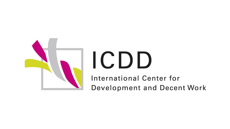 Logo International Center for Development and Decent Work